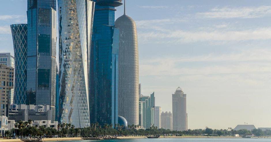 Doha, capital de Catar, es una de las ciudades más ricas del mundo.