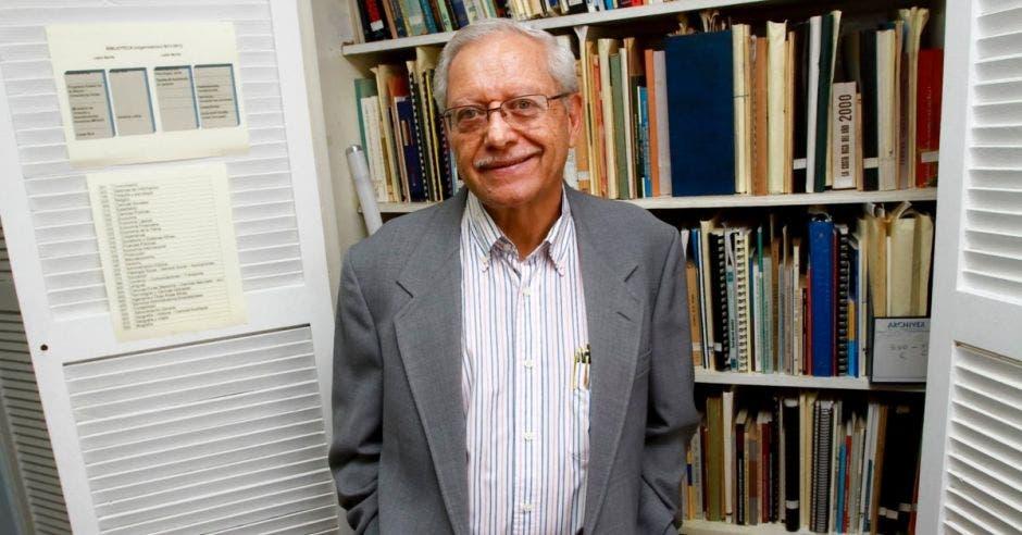 Helio Fallas, ex ministro de Hacienda.