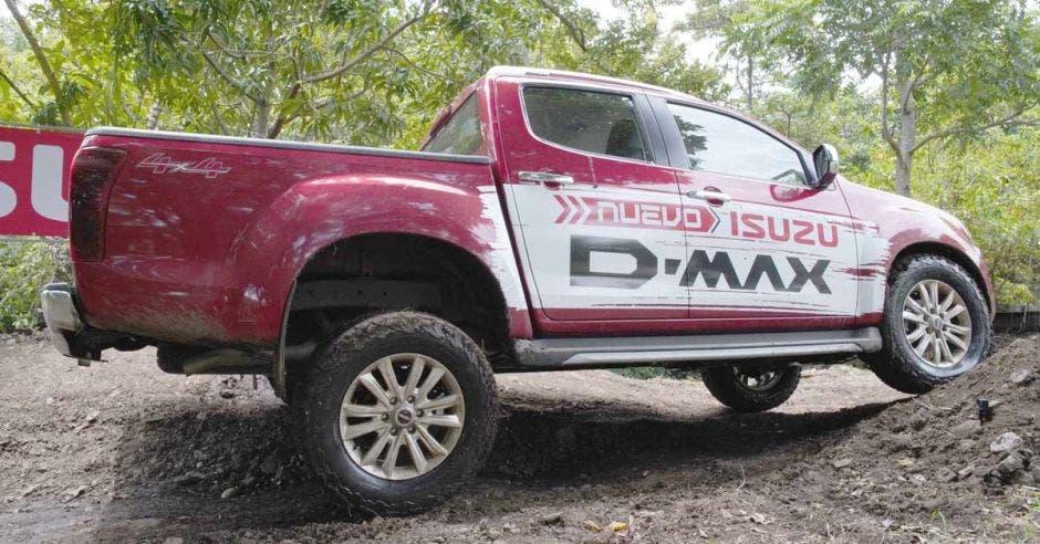 El nuevo D-Max viene en siete colores diferentes.