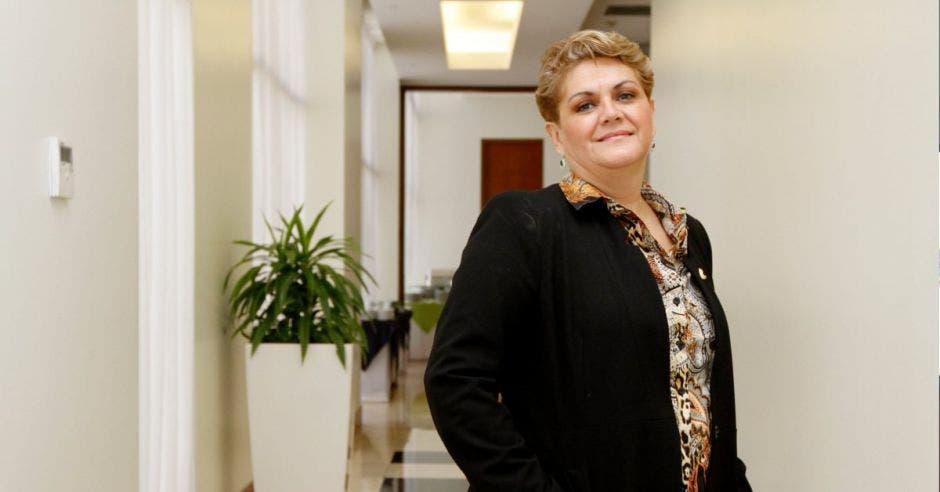 Yolanda Fernández, presidenta de la Cámara de Comercio.