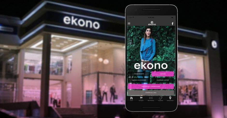 Ekono lanza app para hacer compras