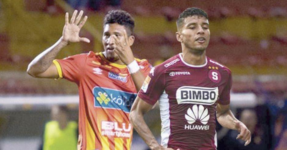 José Guillermo Ortiz y Johan Venegas
