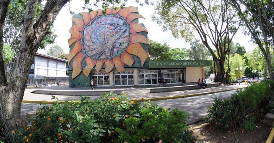 Fachada de la Universidad de Costa Rica