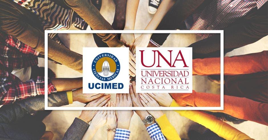 Logo Ucimed y UNA