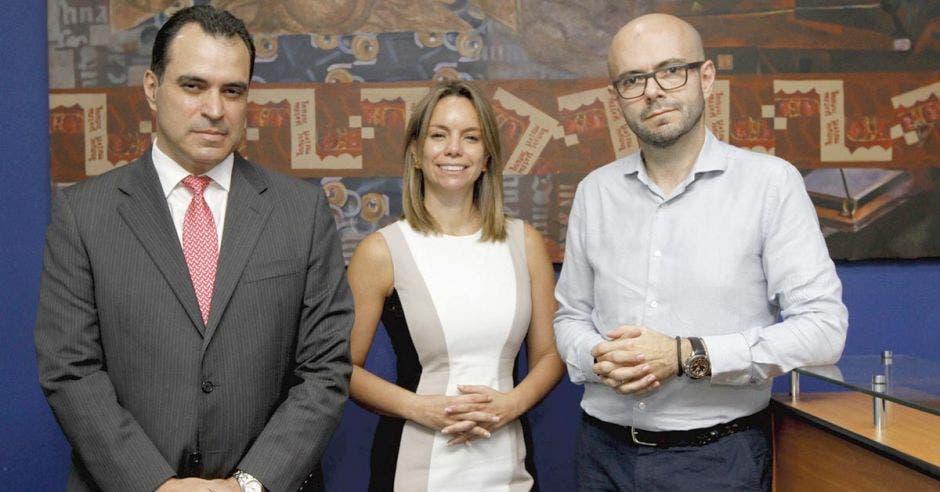 Kevin Casas, Miriam Manrique, José Luis Arce