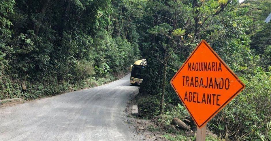Materiales usados para mejorar carretera a Monteverde no cumplen aspectos técnicos