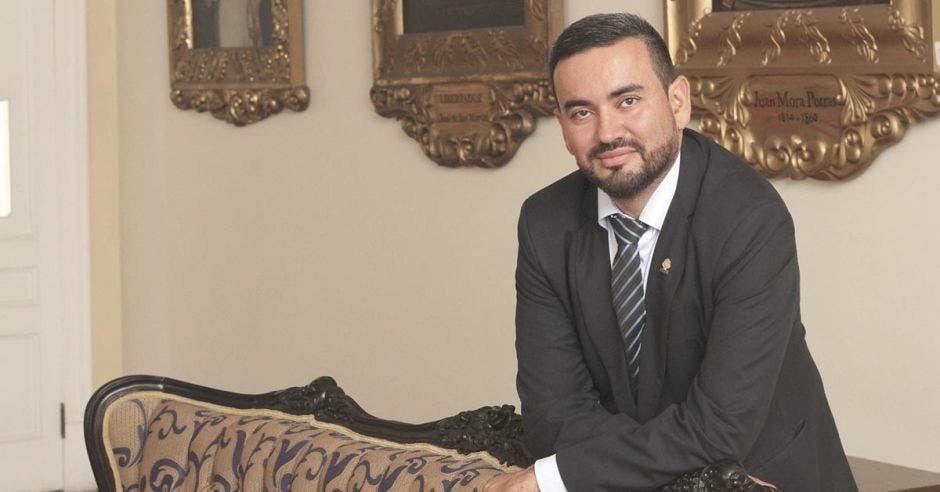 Jonathan Prendas, diputado de Restauración Nacional