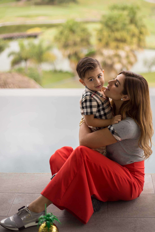 mama con hijo