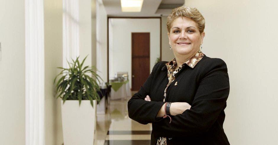 Yolanda Fernández, presidenta de la Cámara de Comercio