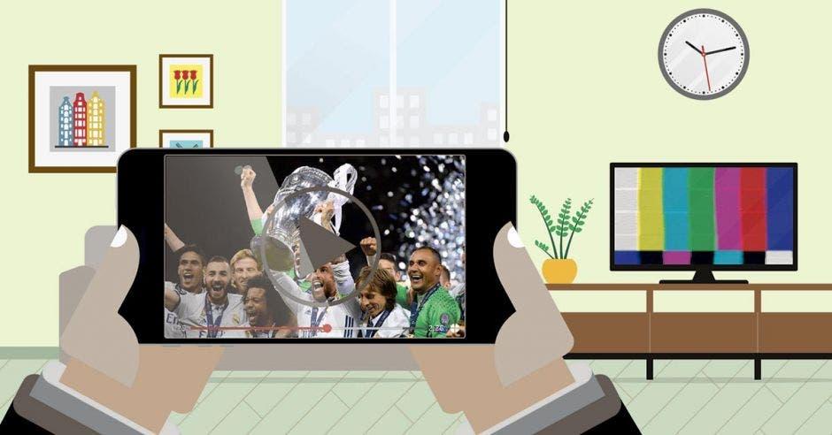 Facebook transmitirá la Champions gratis en Costa Rica previendo caída de la tele