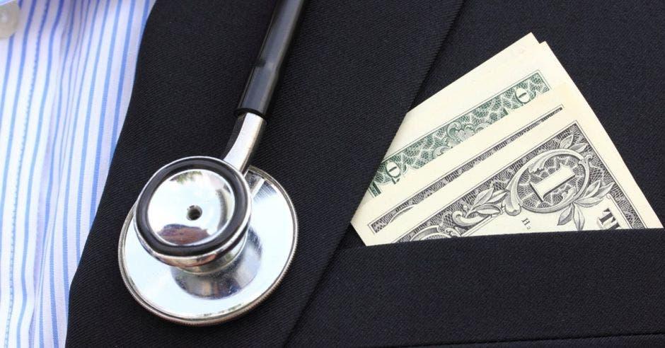 Servicios médicos dinero