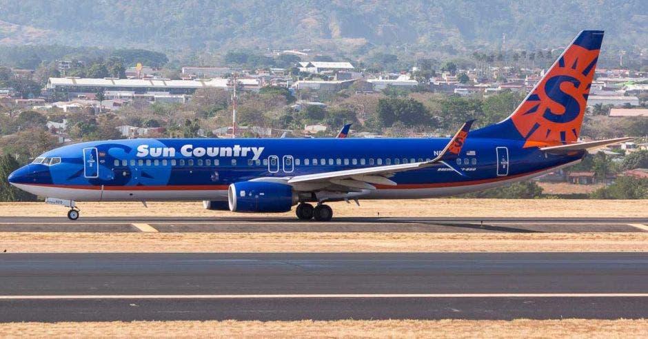 avión de Sun Country