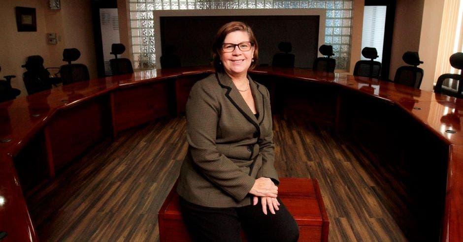 Martha Cubillo, tesorera nacional