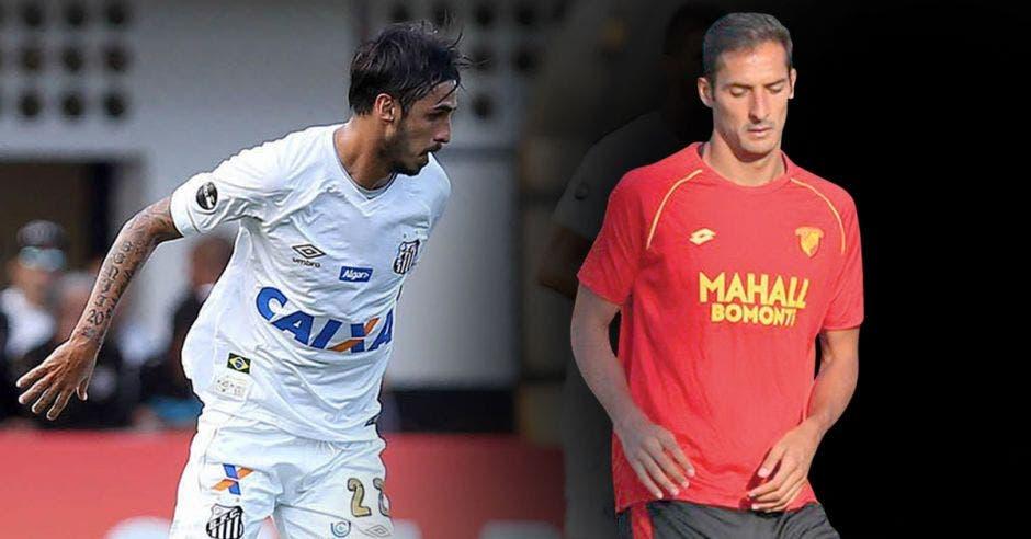 Bryan Ruiz y Celso Borges