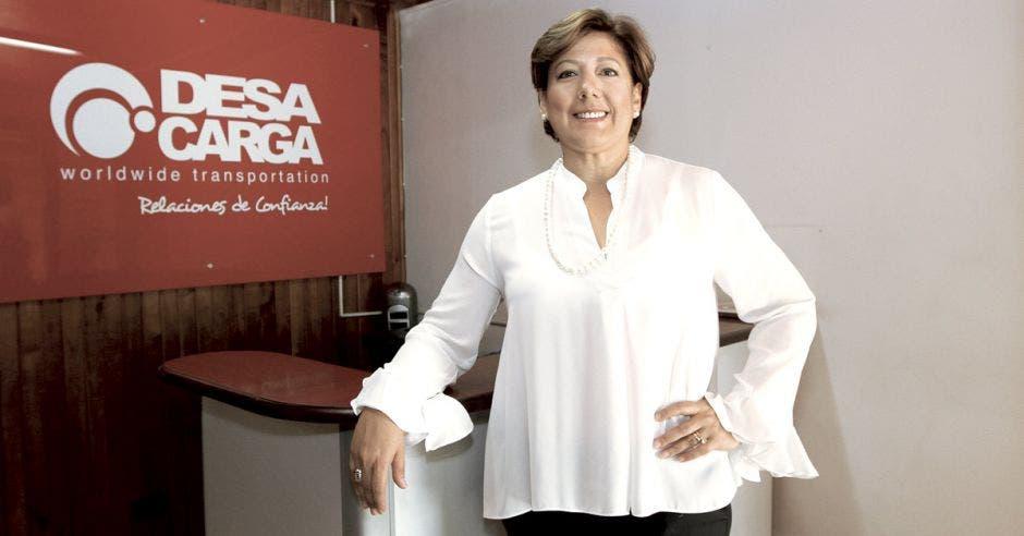Mónica Segnini, gerente general de Desacarga