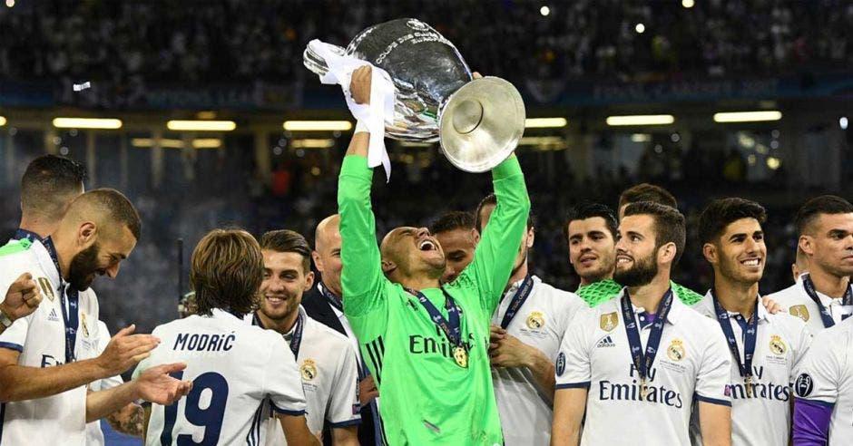 Keylor Navas es tricampeón de la Champions con el Real Madrid/Archivo/La República