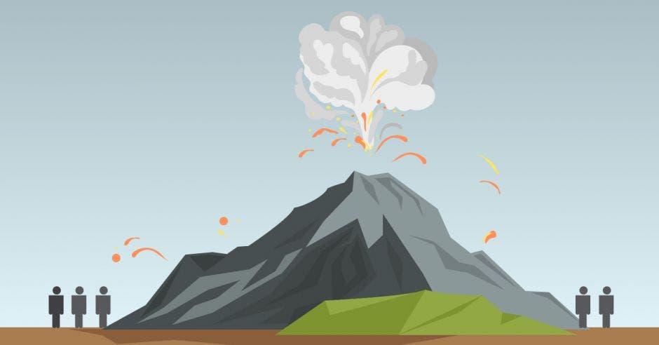 """Administrador del Poás: """"Hacemos que dimensionen el impacto balístico de una erupción"""""""