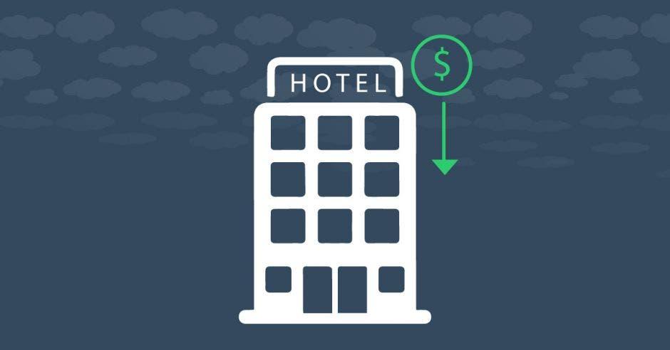 ícono de hotel