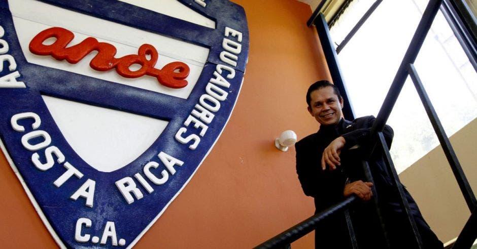 Gilberto Cascante, presidente de la ANDE