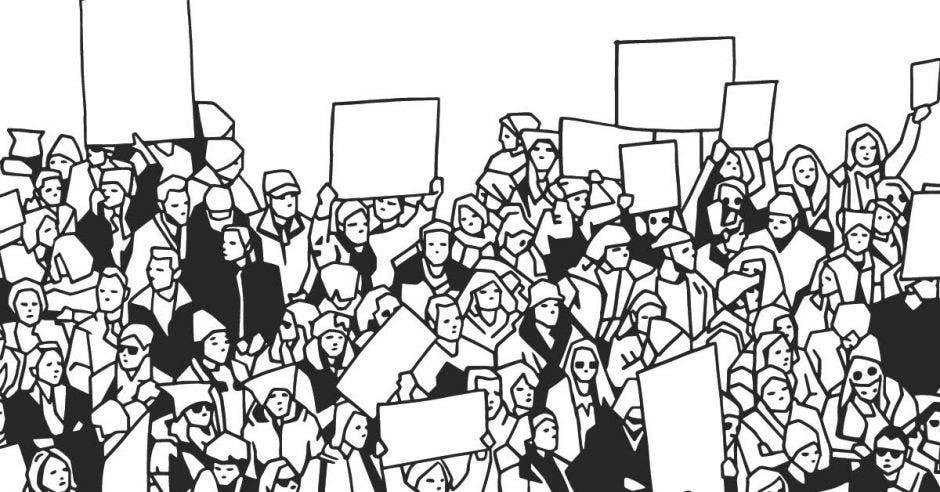 Una protesta