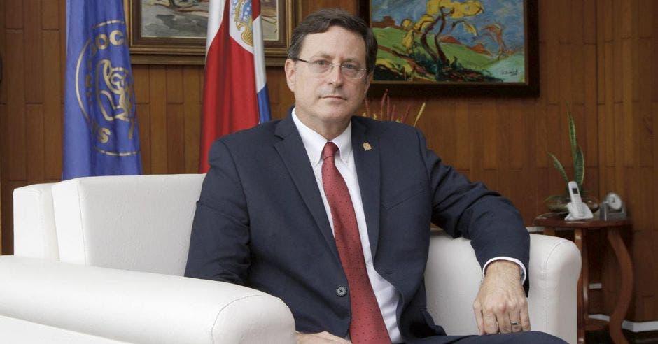 Román Macaya, presidente ejecutivo de la Caja.