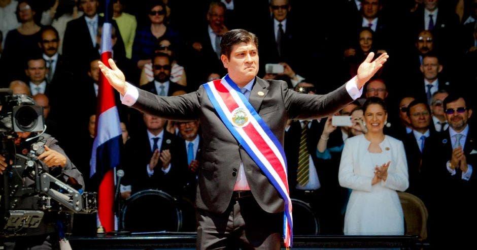 Carlos Alvarado, presidente Costa Rica