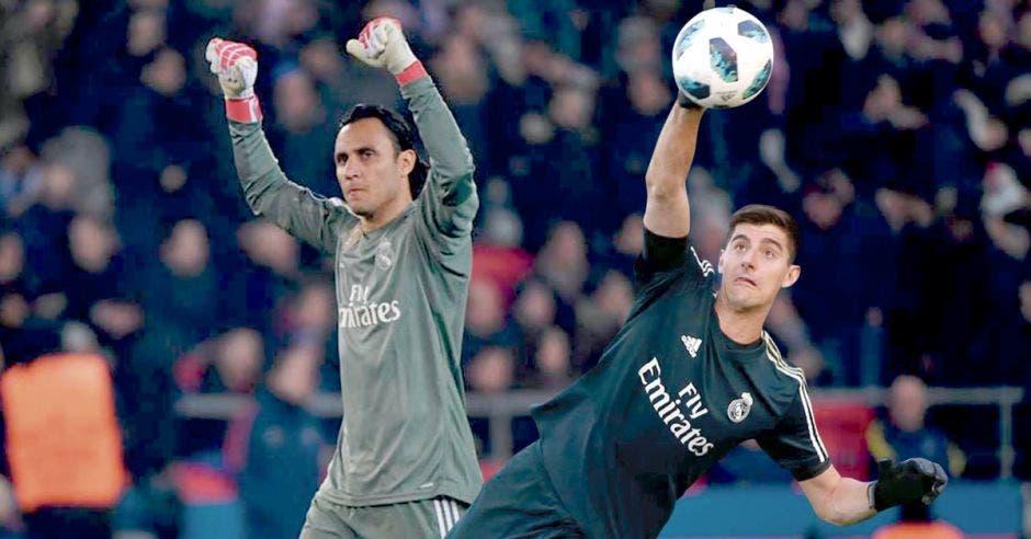Keylor y Courtois blindan la portería del Real Madrid al menor precio