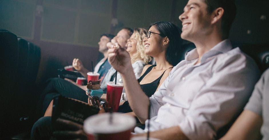gente en el cine
