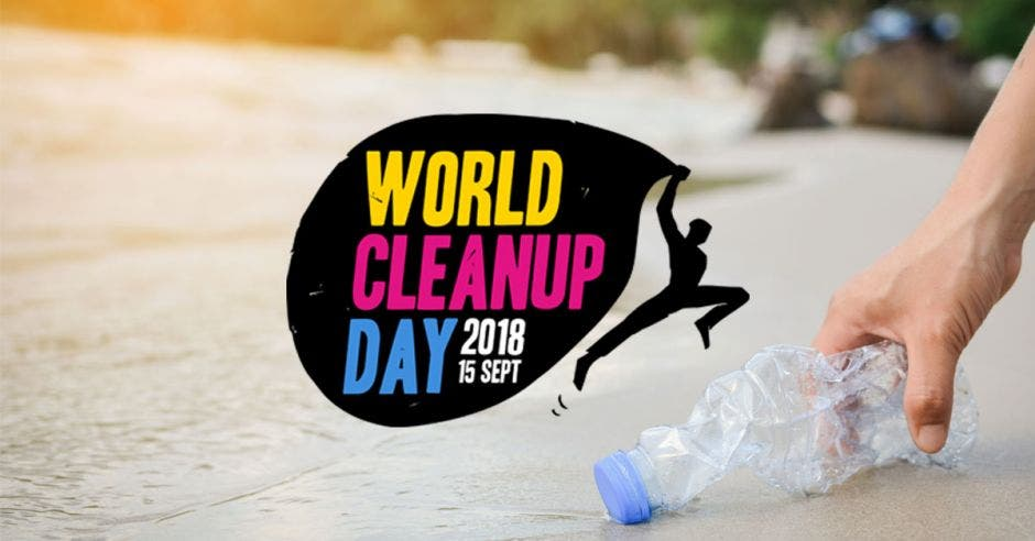 Logo del World Clean Up Day