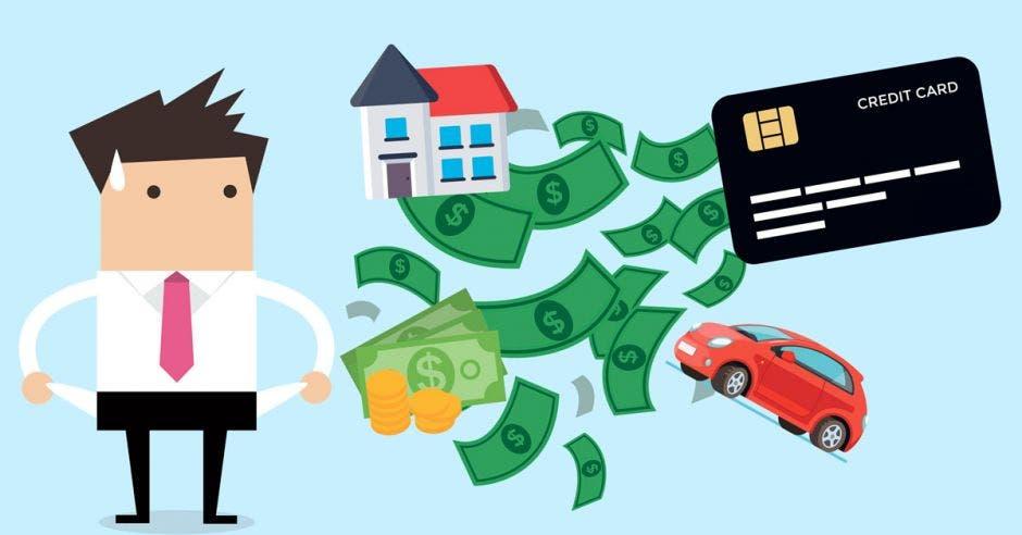 ¿Muchos créditos, poca liquidez? Su solución es consolidar deudas