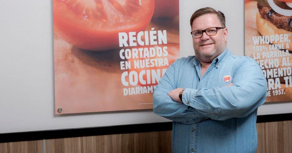 """Gerente de Burger King: """"En dos años de haber vuelto, empleamos a más de 500 costarricenses"""""""