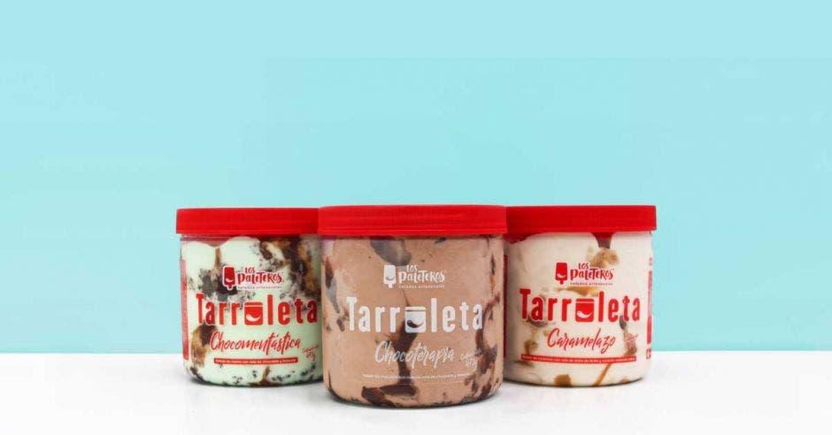 """Los Paleteros lanzan la """"Tarroleta"""", cajas de helado para comer en casa"""