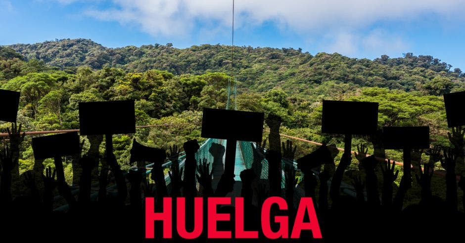Huelga deja pérdidas por ¢119 millones en turismo de Monteverde