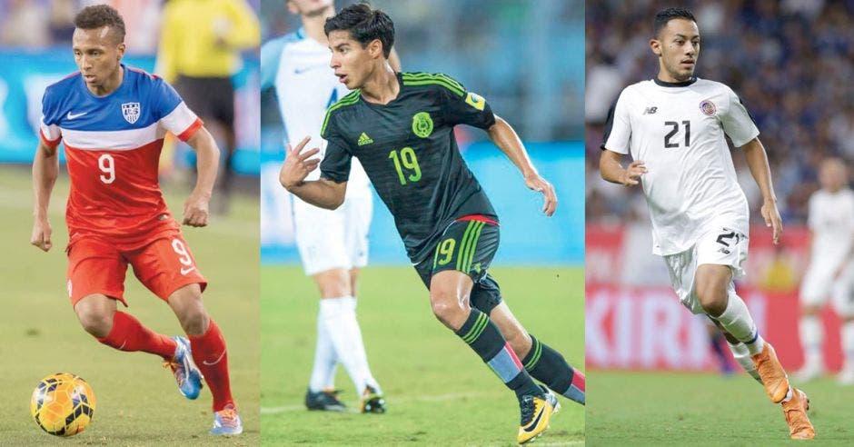 Estados Unidos y México ya cuentan con jóvenes referentes, mientras que a Costa Rica le ha costado mayor trabajo.