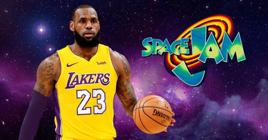 LeBron James compartirá pantalla con Bugs Bunny en Space Jam 2