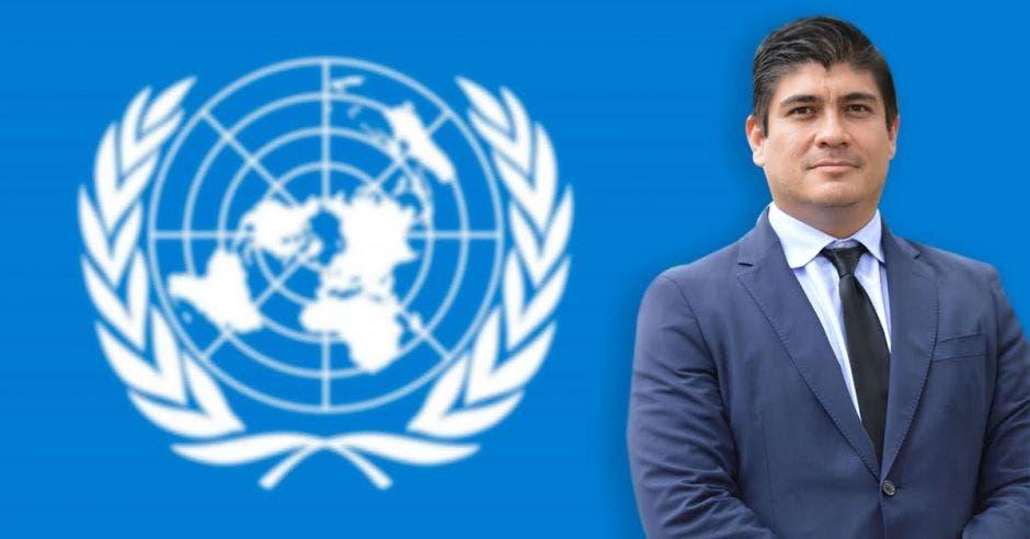 Carlos Alvarado no irá a la asamblea de la ONU