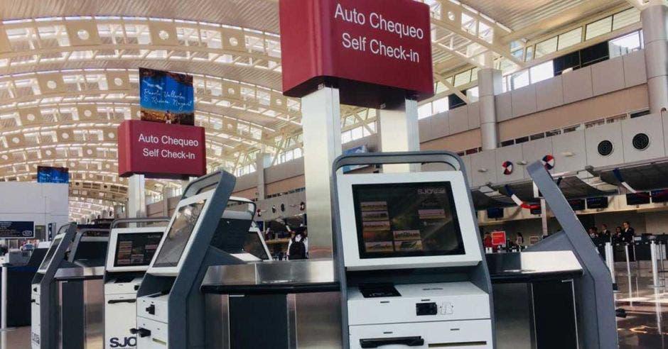máquinas de auto check in