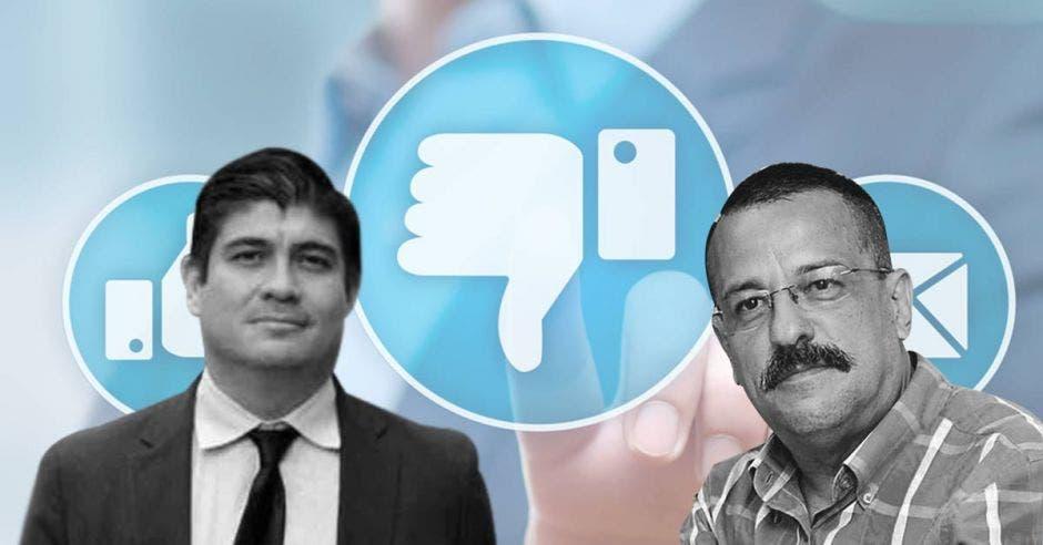 Albino Vargas y Carlos Alvarado