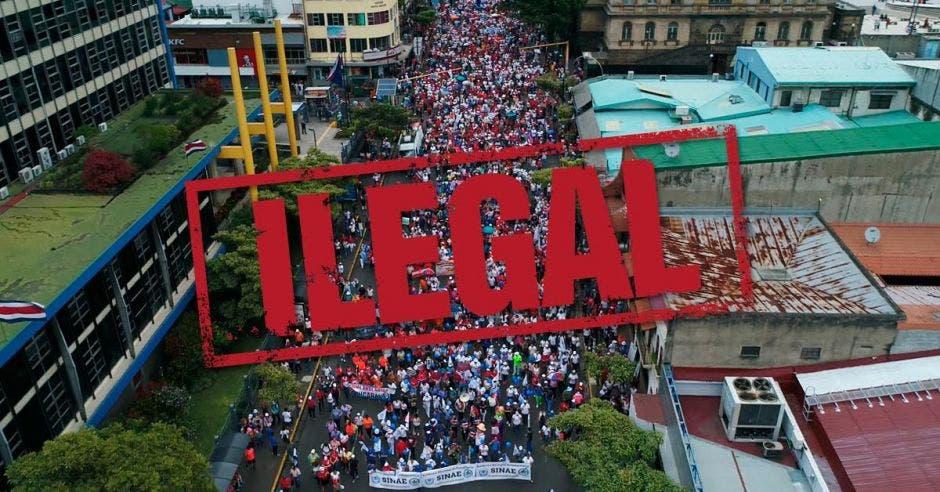 Ilegalidad de huelga podría durar en decretarse dos semanas