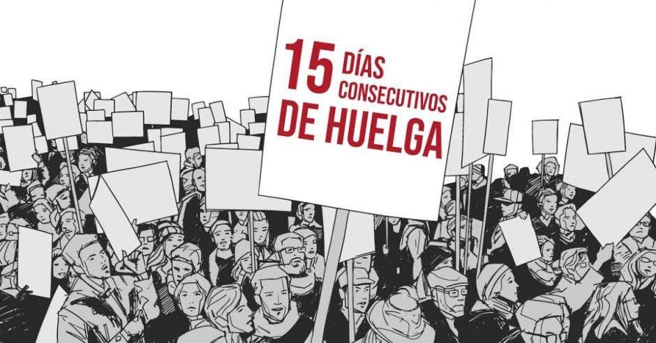 Huelga contra plan fiscal sería la más larga en 20 años