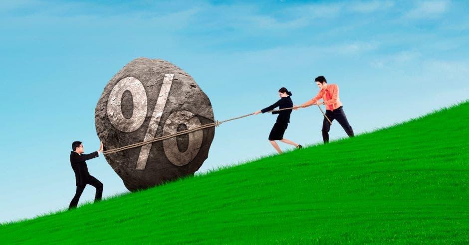 Las tasas de interés en dólares van para arriba