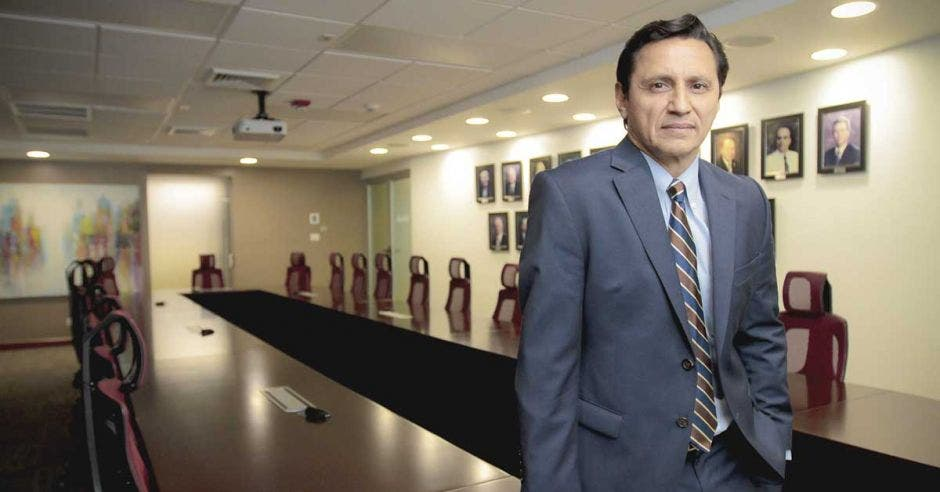 Jorge Arturo González, presidente de la Cámara de la Construcción.