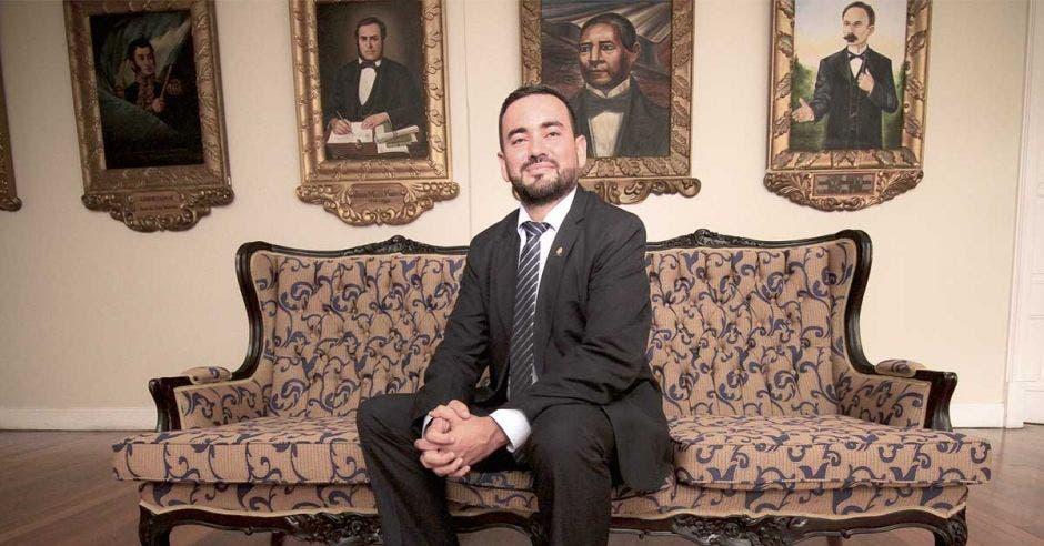 Jonathan Prendas, diputado de Restauración. Archivo/La República