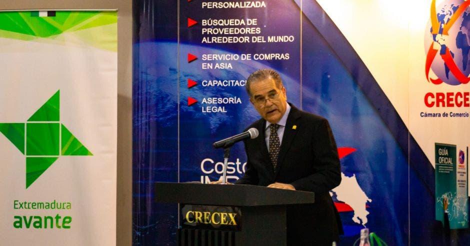 José Manuel Quirce, presidente de Crecex