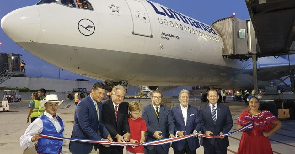 Llegada de Lufthansa