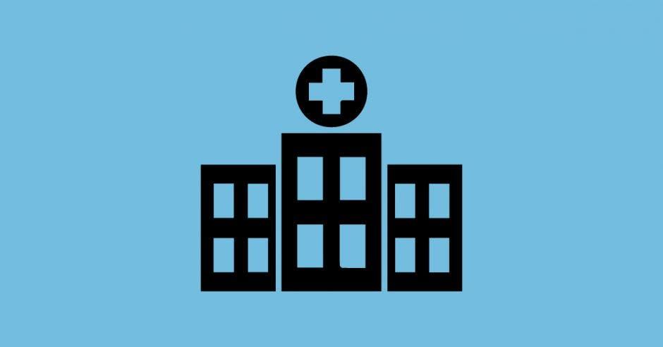 ilustración de hospital