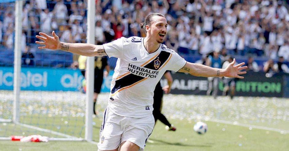 Zlatan trajo consigo sus goles excepcionales a Estados Unidos.
