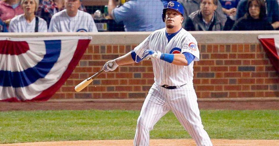 Javier Báez con campaña de ensueño para los Cubs, marchó a casa.
