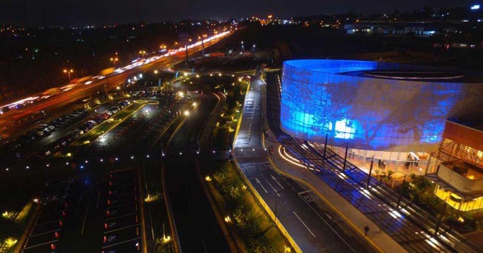 panoramica del centro de convenciones