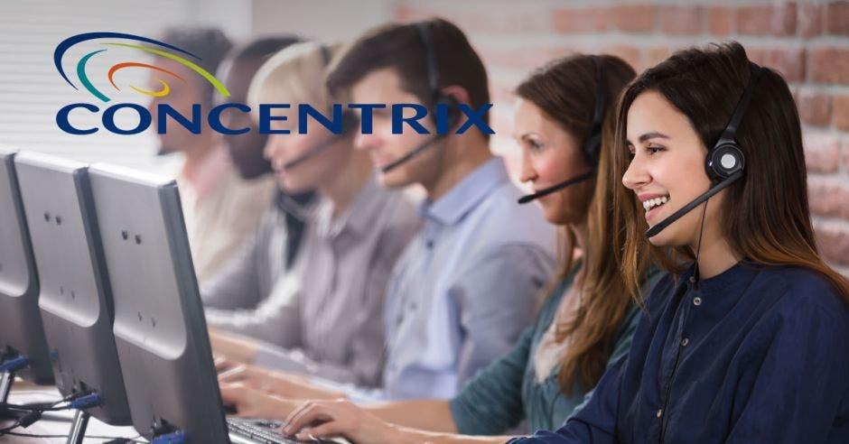 personal en un call center